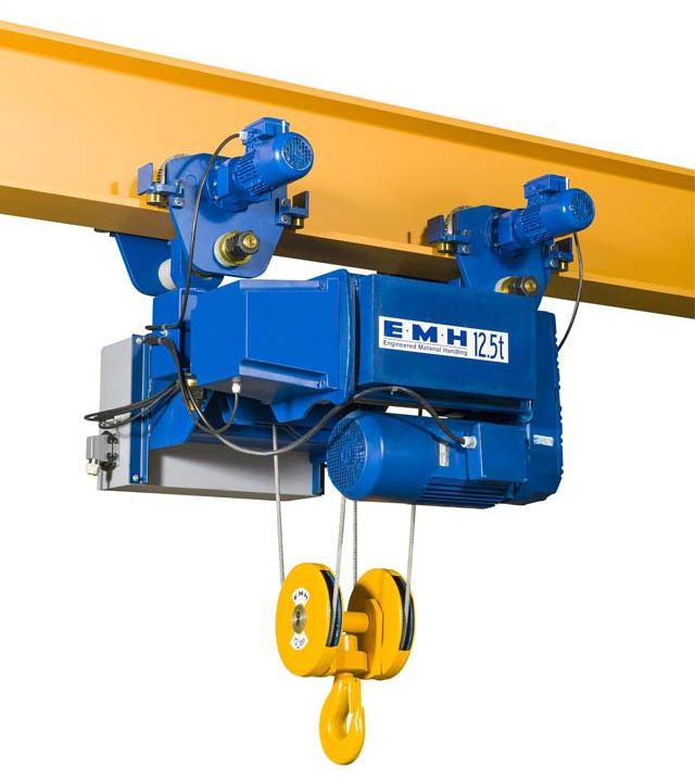 Hoists Wire Rope For Curved Single Girder Cranes Type
