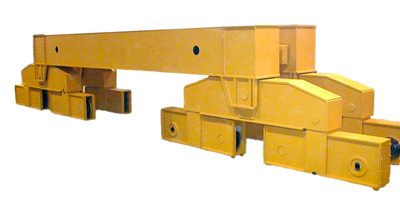 End Trucks Model Uhb Bogie For Double Girder Cranes Emh